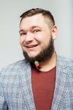 Hombre joven con la barba Foto de archivo