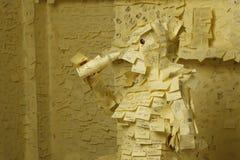 Notas adhesivas Imagen de archivo libre de regalías