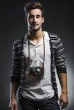 Hombre joven de la manera foto de archivo