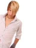 Hombre joven de moda Imagen de archivo libre de regalías