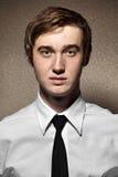Hombre joven de Portait Foto de archivo