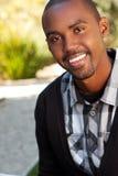 Hombre joven del afroamericano Fotos de archivo