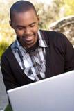 Hombre joven del afroamericano Foto de archivo