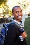 Hombre joven del afroamericano Imagen de archivo libre de regalías