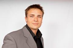 Hombre joven en juego ligero Fotos de archivo
