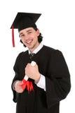 Hombre joven en la graduación Imagen de archivo