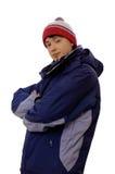 Hombre joven en ropa turística Imágenes de archivo libres de regalías