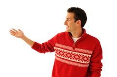 Hombre joven en suéter Fotos de archivo libres de regalías