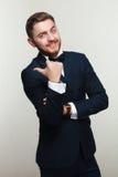 Hombre joven en traje formal Imagen de archivo