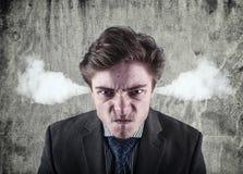 Hombre joven enojado Imagen de archivo libre de regalías