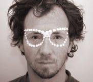 Hombre joven extraño Fotos de archivo libres de regalías