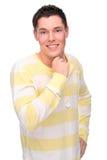 Hombre joven feliz Foto de archivo libre de regalías