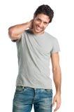 Hombre joven feliz Fotografía de archivo