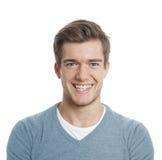 Hombre joven feliz fotografía de archivo libre de regalías