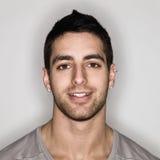Hombre joven Headshot Imágenes de archivo libres de regalías