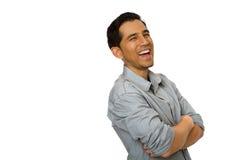 Hombre joven hispánico hermoso Imágenes de archivo libres de regalías