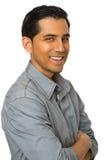 Hombre joven hispánico hermoso Foto de archivo