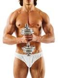 Hombre joven muscular Fotos de archivo