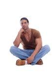 Hombre joven muscular Fotografía de archivo