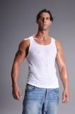 Hombre joven muscular Imagen de archivo