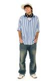 Hombre joven ocasional Imagen de archivo libre de regalías
