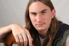 Hombre joven ocasional Foto de archivo libre de regalías