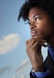 Hombre joven pensativo Fotografía de archivo