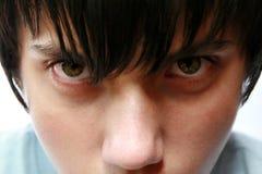 Hombre joven resuelto del retrato Imagen de archivo libre de regalías