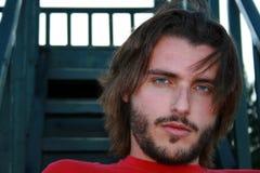 Hombre joven rubio Imágenes de archivo libres de regalías