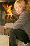 Hombre joven rubio Imagen de archivo libre de regalías