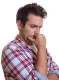 Hombre joven solo Foto de archivo libre de regalías