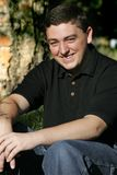 Hombre joven sonriente #3 foto de archivo libre de regalías