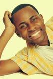 Hombre joven sonriente fotografía de archivo
