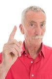 Hombre jubilado Imágenes de archivo libres de regalías