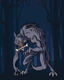 Hombre lobo libre illustration
