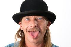 Hombre loco Fotos de archivo libres de regalías