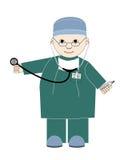 Hombre médico Imagen de archivo libre de regalías