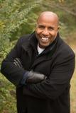 Hombre maduro del afroamericano fotos de archivo