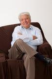Hombre maduro sonriente Fotografía de archivo libre de regalías