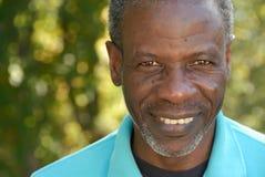 Hombre maduro sonriente Fotografía de archivo