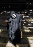 Hombre malvado asustadizo Foto de archivo libre de regalías