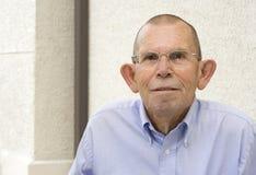 Hombre mayor activo Foto de archivo libre de regalías