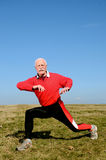 Hombre mayor atlético imagen de archivo