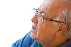 Hombre mayor brasileño imagenes de archivo
