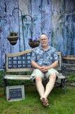 Hombre mayor con amor Imagen de archivo libre de regalías