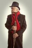 Hombre mayor del retrato victoriano fotografía de archivo libre de regalías