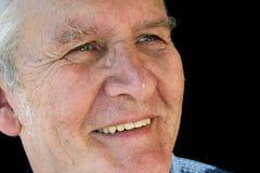 Hombre mayor sonriente fotos de archivo