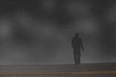 Hombre misterioso ilustración del vector