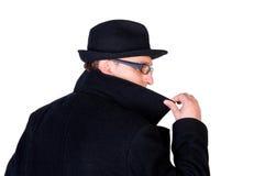 Hombre misterioso Imagenes de archivo