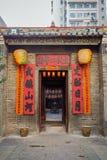 Hombre Mo Temple en Tai Po, Hong Kong Fotografía de archivo libre de regalías